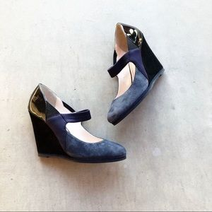 ANTHRO PLENTY By Tracy Reese Riley Mary Jane Wedge